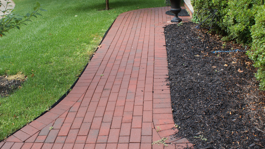 A Heated Paver Walkway Or Heated Paver Driveway Snowmelt