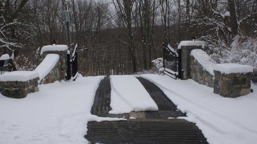 Heated Driveway Radiant Heated Driveway Snow Melting