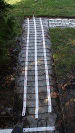 Radiant Heated Bluestone Walkway